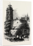 St. Giles's, Cripplegate, Showing the Old Wall by Anonymous