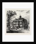 The Old Queen's Head Tavern, 19th Century by Anonymous