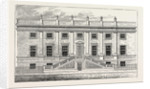 Surgeons' Hall, Old Bailey, 1800 by Anonymous