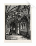 Porch of St. Sepulchre's Church by Anonymous