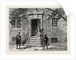 Doorway in Staple's Inn by Anonymous