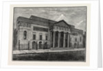 Covent Garden Theatre, Front in 1850 by Anonymous
