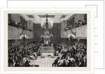 Interior of the House of Commons, 1834 by Anonymous