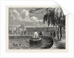 The Fountain in the Green Park, 1808 by Anonymous