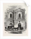 Entrance to the Old Opera House, 1800 by Anonymous