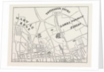 Map of Rathbone Place And Neighbourhood, 1746 by Anonymous