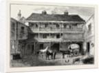 The Old black Bull Inn, Gray's Inn Lane, 19th Century by Anonymous