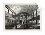 Interior of Kensington Church, 1850 by Anonymous
