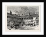 Court-yard of the rose And Crown, 1820 by Anonymous