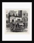Old Houses, Holborn, 19th Century by Anonymous