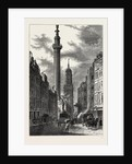 The Monument And the Church of St. Magnus, About 1800 London by Anonymous