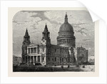 Exterior of St. Paul's from the South-west, 1800 by Anonymous