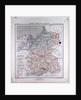 Germany, Prussia, Poland, antique map 1869 by Th. von Liechtenstern and Henry Lange