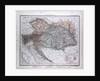 Austria, Oesterreich, antique map 1869 by Th. von Liechtenstern and Henry Lange