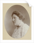 Oval portrait of Tine Vermeulen by C.J.L. Vermeulen
