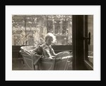 Eckart Titzenthaler, son of the photographer, in the house Friedrichstrasse Berlin, Germany by Waldemar Titzenthaler