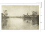 River landscape by Peter Henry Emerson