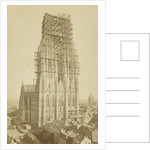 View of the Cologne Cathedral, west side, Germany by Johann Heinrich Schönscheidt