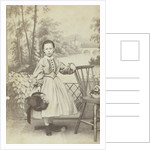 Portrait of a girl by Jacobus van Gorkom Jr