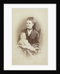 Portrait of a woman with a baby by WJ Gram Mann