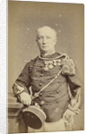 Studio Portrait of a man in military uniform by Woodbury & Page