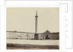 Building of the General Staff and the Alexander Column built at the Hermitage, St. Petersburg Russia by Anonymous