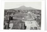 Pompeii foro civile, Italy by Giorgio Sommer