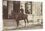 Miss Tachard on horseback in front of home Heidepark Doorn by Henry Pauw van Wieldrecht