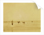 People at Sea North Sea, the Netherlands or Germany by Anonymous