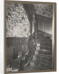 Interior with stairs by Anonymous
