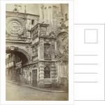Le Gros Horloge, Rouen by P. Roussel