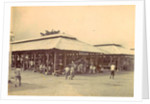 Audience at market halls in Ambon, Indonesia by Anonymous