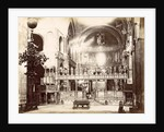 Choir, Byzantine cross, altar and altar of the Basilica of San Marco in Venice by Carlo Ponti