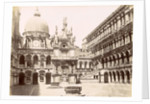 Courtyard of the Doge's Palace in Venice by Carlo Ponti