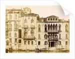 Hotel New York in the Palazzo Ferro Venice by Carlo Ponti