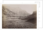 Bridge over a river in Qazvin towards Mezeh by Anonymous