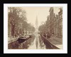 Amsterdam, Groenburgwal Canal by Anonymous