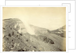 Europeans on a mountainside or volcano in the Dutch East Indies by Anonymous