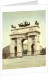 Arco della Pace in Milan Italy by Anonymous