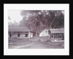 Java, Indonesia Tjipanas in Garut, huts by Anonymous