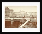 Anitschkowbrug with images of the horse tamers in St. Petersburg Russia by A. Lorens