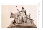 Group at the foot of the Albert Memorial in London: Europe by F.G.O. Stuart