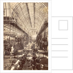 Interior Crystal Palace in London UK by Anonymous
