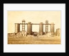 Blast furnaces for steel production in the factory of Bolckow, Vaughan & Co. Ltd. in Middlesbrough UK by Anonymous