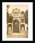 Entrance Jardin Mabille, a dance hall in Paris, France by Anonymous