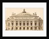 front of the Opera in Paris, France by Anonymous