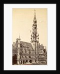 facade and tower of the town hall by Anonymous