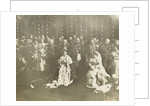 Inauguration of Queen Wilhelmina in the Nieuwe Kerk in Amsterdam, The Netherlands (1898) by R. Ebner