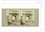 Arc de Titus forum Rome, Alexis Gaudin et Frère by Anonymous