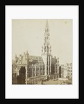 Brussels, The Hotel de Ville 1400-1450, Belgium by Jules Queval